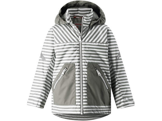 Reima Nummi Jacket Boys Clay Grey